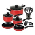 Gibson® Cuisine Select Windberg Cookware Combo Set, 25-Piece, Red