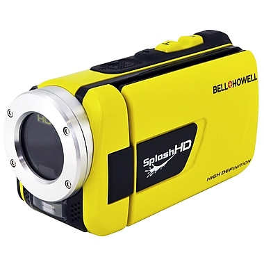 Bell & Howell® Splash HD 16MP 1080p Waterproof Camcorder, Yellow