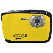 Bell & Howell® Splash2 16MP Waterproof Digital Camera With HD Video, Yellow