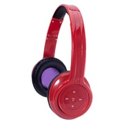 Craig CBH508 Bluetooth Stereo Over-Ear Headphone, Red