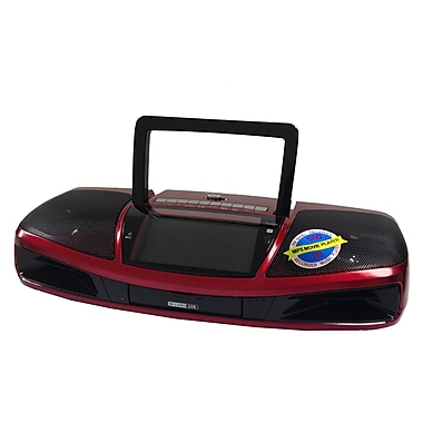 SuperSonic SC-1393 Portable MP5/MP3 Player, Red