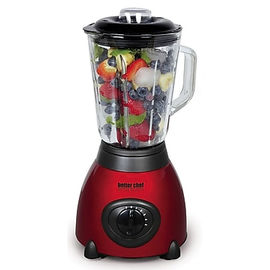 Better Chef® 5-Speed 6-Cup Stainless Steel Blenders