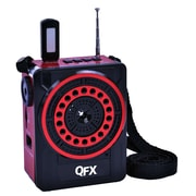 QFX® CS-88 PA System With USB/SD and FM Radio, Red