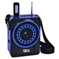 QFX® CS-88 PA System With USB/SD and FM Radio, Blue