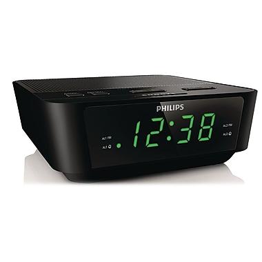 Philips AJ3116M/37 Digital Tuning Clock Radio, Black