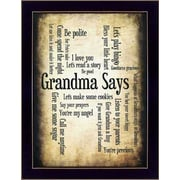 SB206A-712  Grandma Says