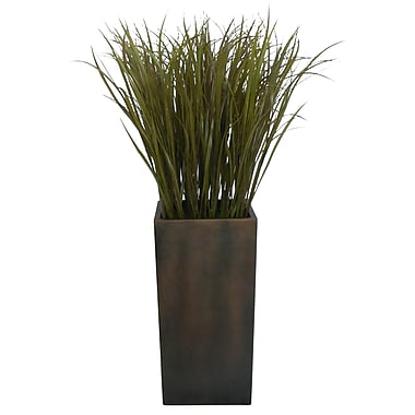 Laura Ashley 48in. Grass Floor Plant in Contemporary Stand