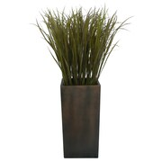 "Laura Ashley® 48"" Grass Floor Plant in Contemporary Stand"