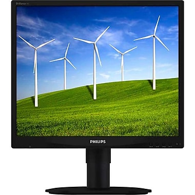 Philips 19B4LCB5 19in. Widescreen LED LCD Monitor, Black