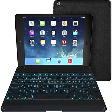 Zagg ZKFHF Leather Folio Keyboard Case for Apple iPad Air