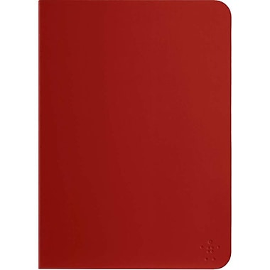 Belkin™ Qode Slim Style Keyboard Case For iPad Air, Red/Black