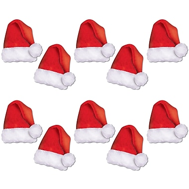 Mini Santa Hat Cutouts, 5