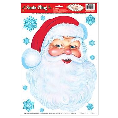 Santa Face Cling, 12