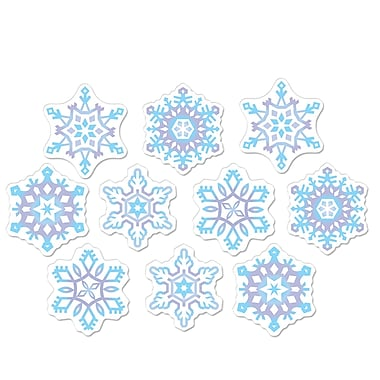 Mini Snowflake Cutouts, 4-1/2