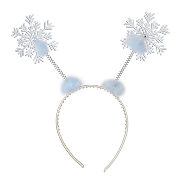 Beistle Snowflake Boppers, White