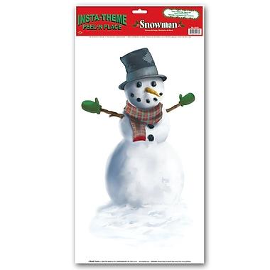 Snowman Peel 'n' Place, 12