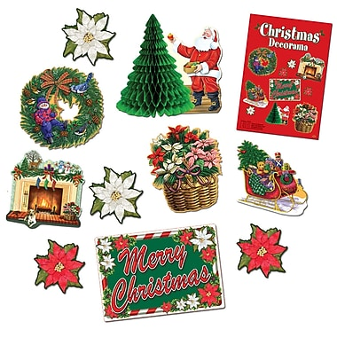 Christmas Decorama, 20/Pack