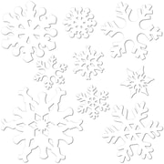 "Beistle 5"" - 12"" Snowflake Cutouts, 36/Pack"
