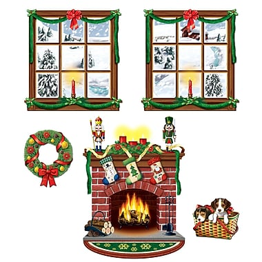 Indoor Christmas Decor Props, 10/Pack
