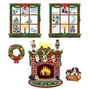 "Beistle 15"" - 49"" Indoor Christmas Decor Props, 10/Pack"