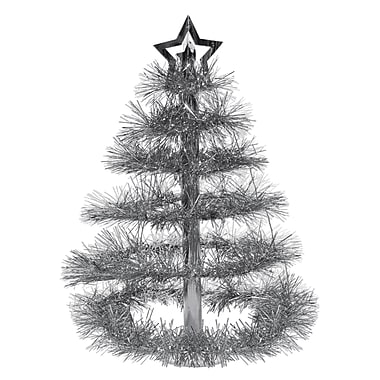 Silver Christmas Tree Centerpiece, 16