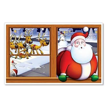Accessoire décoratif « Père Noël », 3 pi 2 po x 5 pi 2 po, paquet de 2