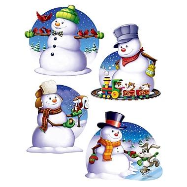 Snowman Cutouts, 16