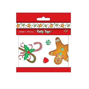 Gingerbread Man Party Tape, 3