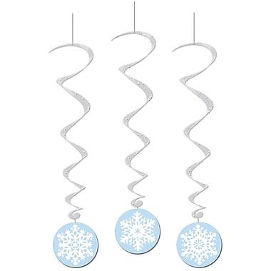 Snowflake Whirls, 3' 6