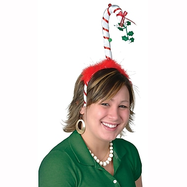 Beistle Mistletoe Candy Cane Bopper