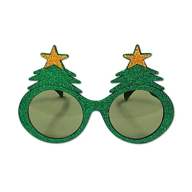 Glittered Christmas Tree Fanci-Frames, 2/Pack