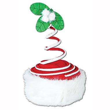Springy Mistletoe Hat