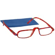 Peeperspecs® Coral/Blue Reading Glasses, +2.50