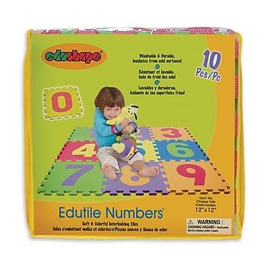 Edushape® Edu-Tile Mat, Numbers
