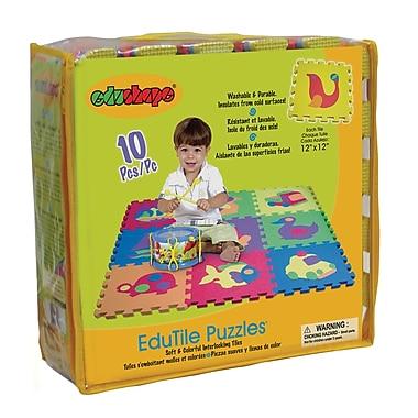 Edushape® Edu-Tile Mat, Puzzles