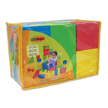 Edushape® Big EduColor Blocks, 32 Pieces