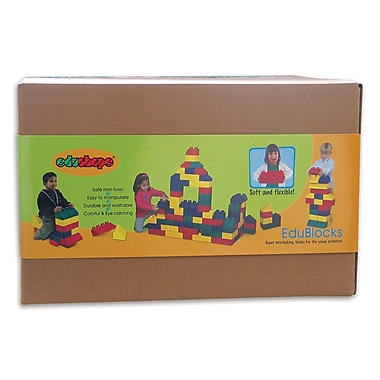 Edushape® Edu-Blocks, 50/Pack