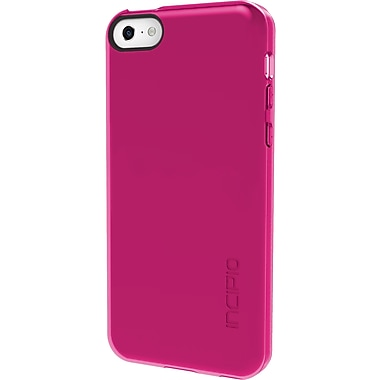 Incipio – Étui Feather transparent pour iPhone 5C, rose