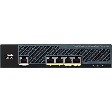Cisco™ Air 2500 Series 4-Ports Wireless LAN Controller For 50 MAPs