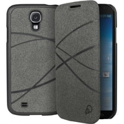 Cygnett FlipFiber Carrying Case For Galaxy S4, Gray