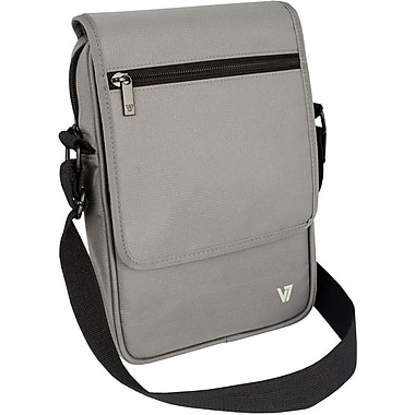 V7® Premium Messenger Bag For 8.1in. Tablet, Gray