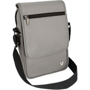 "V7® Premium Messenger Bag For 8.1"" Tablet, Gray"