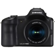 Samsung Galaxy EK-GN120 20.3 Megapixel Mirrorless Camera With 18-55mm Lens, Black