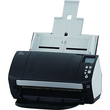 Fujitsu Fi-7160 Document Scanner, Black/White (PA03670-B055)