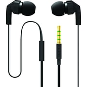 Incipio® F80 Hi-Fi Stereo Earbud Headset With Mic, Black