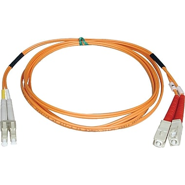 Tripp Lite 50' Duplex Fibre Channel Patch Cable, Orange