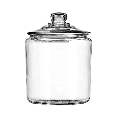 Anchor Hocking 69349T, 1 gal Heritage Hill Glass Jar w/Cover
