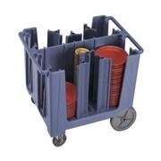 Cambro ADCS-401, Plastic Adjustable Dish Caddy, Slate Blue