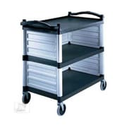 Cambro BC340KDP480, Single Shelf Panel Set for KD Utility Carts, Speckled Gray