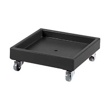 Cambro CD2020-110, Plastic Camdolly - for Dish Racks, Black